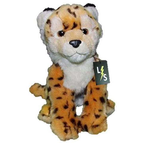 Toy - LightningStore Adorable Cute Yellow Cheetah Leopard Jaguar Spotted Doll Realistic Looking Stuffed Animal Plush Toys Plushie Children's Gifts Animals