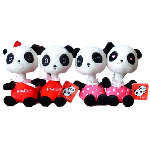 Toy - LightningStore Adorable Long Neck Panda Dolls Realistic Looking Stuffed Animal Plush Toys Plushie Children's Gifts Animals