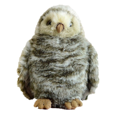Toy - LightningStore Adorable Patterned Owl Doll Realistic Looking Stuffed Animal Plush Toys Plushie Children's Gifts Animals
