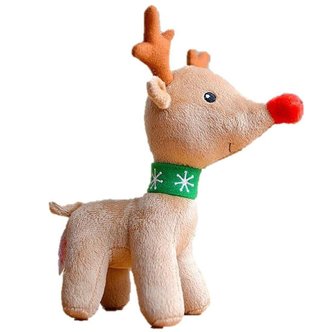 Toy - LightningStore Adorable Reindeer Deer Plush Doll Realistic Looking Stuffed Animal Plush Toys Plushie Children's Gifts Animals