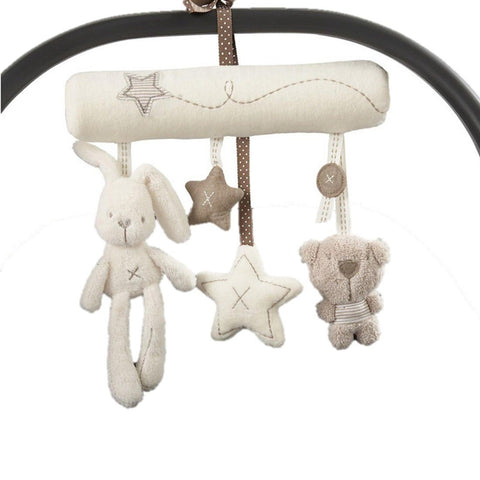 Toy - LightningStore Baby Infant Pram Charm Music Toy Bed Stroller Hang Bell Rattles