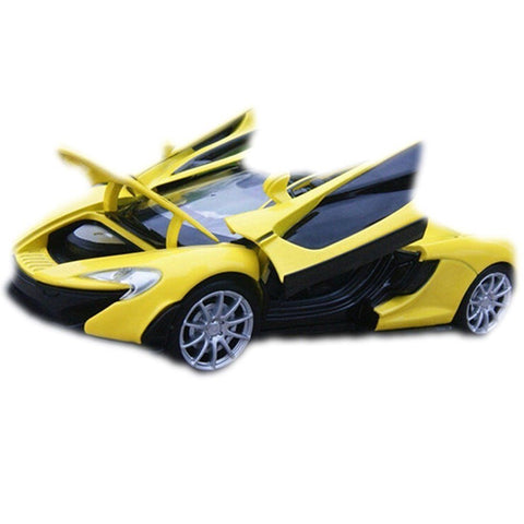 Toy - LightningStore Cool Stylish Yellow McLaren Alloy Diecast Car Collection With Light And Sound - Must Have Car Model For Collectors