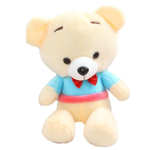 Toy - LightningStore Cute Bear Wearing Clothes Shirt And Necktie Orange Blue Green Red Doll Stuffed Animal Plush Toys Plushie Children's Gifts Animals Green Purple Brown Blue