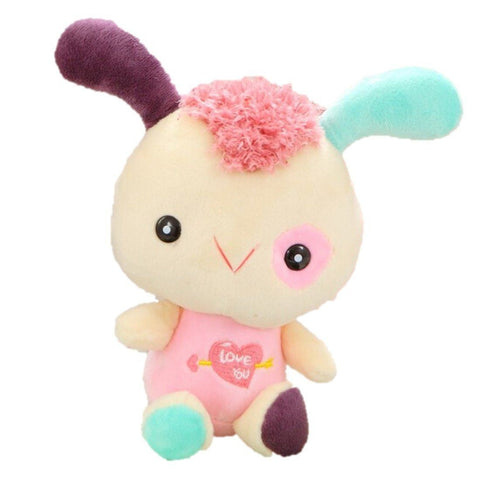 Toy - LightningStore Cute Colorful Rainbow Green Pink Red Purple Funny Cartoon Rabbit Bunny Doll Realistic Looking Stuffed Animal Plush Toys Plushie Children's Gifts Animals