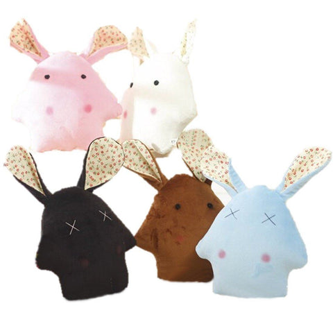 Toy - LightningStore Cute Colorful White Black Blue Pink Brown Starfish Rabbit Doll Hybrid Realistic Looking Stuffed Animal Plush Toys Plushie Children's Gifts Animals