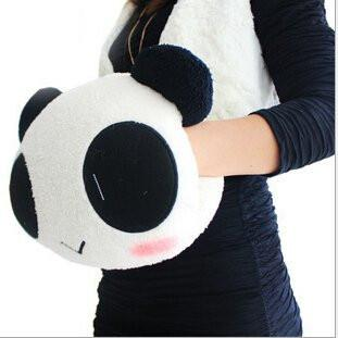 Toy - LightningStore Cute Panda Hand Warming Pillow Winter Cold Warm Cushion Glove Doll Realistic Looking Stuffed Animal Plush Toys Plushie Children's Gifts Animals