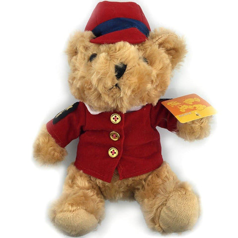 Toy - LightningStore Cute Sheriff Police Wearing Red Shirt Clothes Uniform Brown Teddy Bear Doll Realistic Looking Stuffed Animal Plush Toys Plushie Children's Gifts Animals