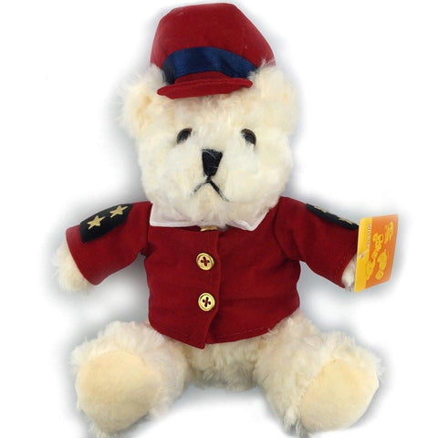 Toy - LightningStore Cute Sheriff Police Wearing Red Shirt Clothes Uniform Teddy Bear Doll Realistic Looking Stuffed Animal Plush Toys Plushie Children's Gifts Animals