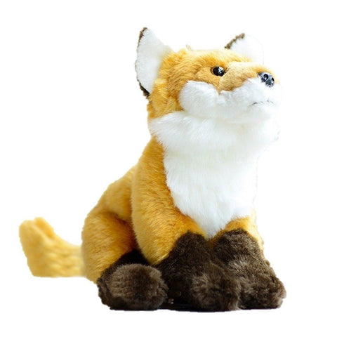 Toy - LightningStore Fox Doll Realistic Looking Stuffed Animal Plush Toys Plushie Children's Gifts Animals