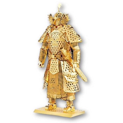 Toy - LightningStore Gold Silver Chinese General Warrior Metallic 3D Jigsaw Puzzle - Educational DIY Toy For Older Kids And Teens - Excellent Gift Idea