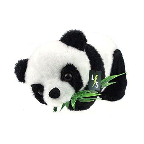 Toy - LightningStore Kids Baby Toy Eatting Bamboo Leaves Panda Boy Girl Cute Soft Push Stuffed Fuzz Panda Animal Doll Toys For Children