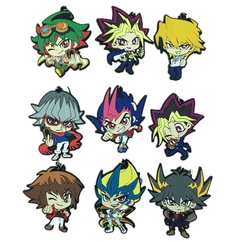 Toy - LightningStore Original Products Anime Games Yu-Gi-Oh! Cosplay Yugioh Yugi Muto Figures Keychain/Phone Strap Pendant Toys