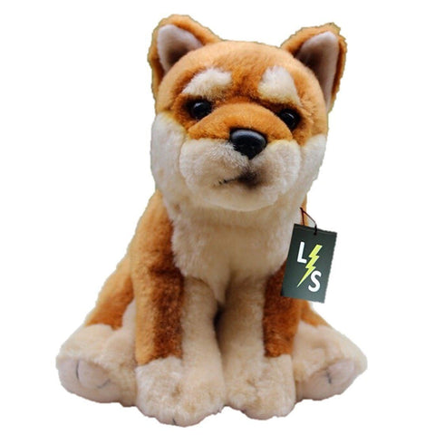 Toy - LightningStore Super Adorable Cute Akita Dog Plush Toy Doll For Kids