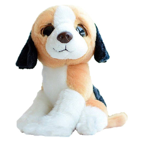Toy - LightningStore Super Cute Big Eyes Beagle Puppy Dog Doll Realistic Looking Stuffed Animal Plush Toys Plushie Children's Gifts Animals ...