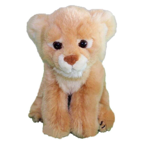 Toy - LightningStore Super Cute Orange Baby Lion Lioness Cub Doll Realistic Looking Stuffed Animal Plush Toys Plushie Children's Gifts Animals ...