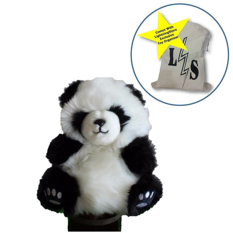Toy - LightningStore Super Cute Panda Puppet For Story Telling Bedtime Story Stories Doll Realistic Looking Stuffed Animal Plush Toys Plushie Children's Gifts Animals ...