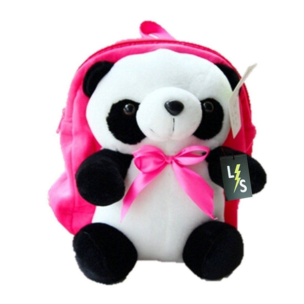 Toy - LightningStore Super Cute Pink Blue Yellow Red Panda Bear Children School Bags Backpack Kindergarten Girls Boys Kid Backpack Cute Cartoon Toys