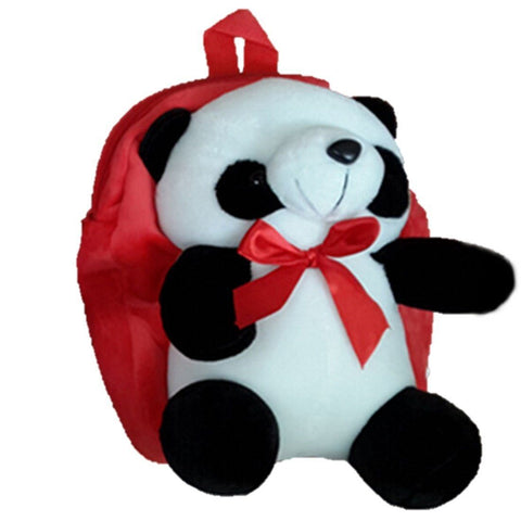Toy - LightningStore Super Cute Red Pink Blue Yellow Panda Bear Children School Bags Backpack Kindergarten Girls Boys Kid Backpack Cute Cartoon Toys