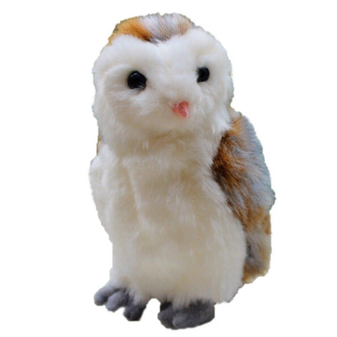 Toy - LightningStore Super Cute White Orange Gray Grey Owl Doll Realistic Looking Stuffed Animal Plush Toys Plushie Children's Gifts Animals ...