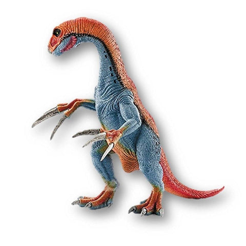 Toy - Oviraptor Colorful Orange Blue Egg Eater Dinosaur Action Figure Toy - A Must Have For Children And Teens - Excellent As A Collector's Item