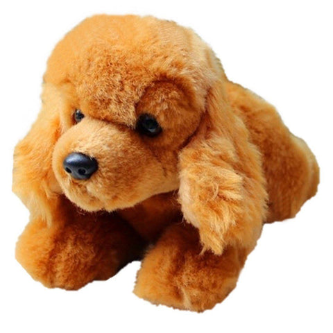 Toy - Poorly Stuffed Animals -LightningStore Adorable Cute Brown Poodle Puppy Doll Stuffed Animal Plush Toys Plushie Children's Gifts Animals