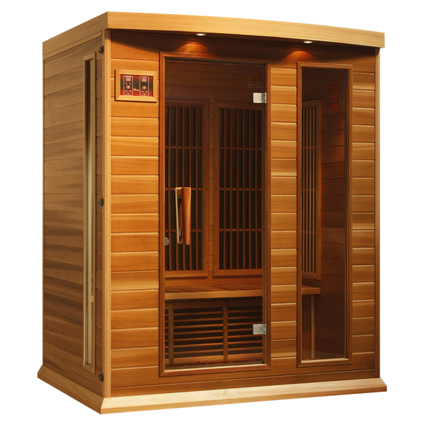 Maxxus K306 Red Cedar Low EMF Far Infrared Sauna