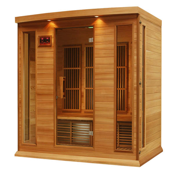Maxxus K406 Red Cedar Low EMF Far Infrared Sauna