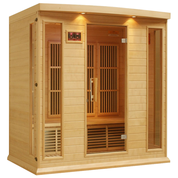 Maxxus K406 Hemlock Low EMF Far Infrared Sauna