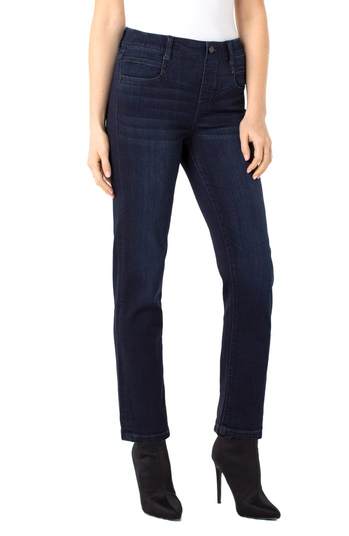 "JEANS PULL-ON ""GIA GLIDER SLIM"" HALIFAX"