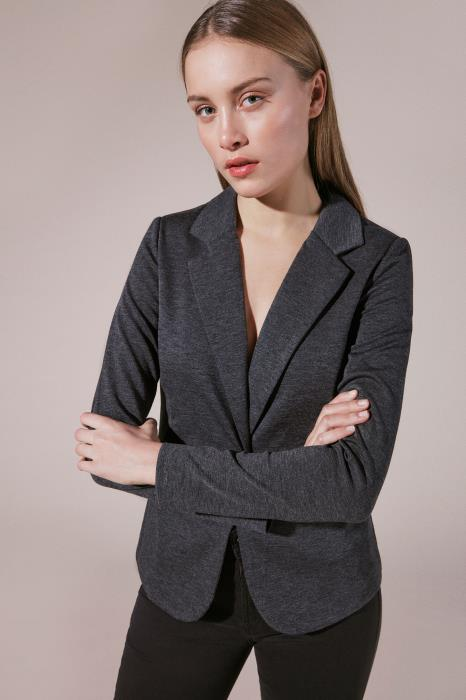 "VESTON ""KATE BLAZER"" CHARCOAL"