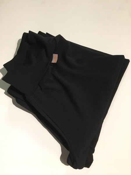 LEGGING LONG BAMBOU NOIR