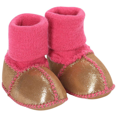 Kip & Co Slipper Kip & Co Baby Boots - Gold
