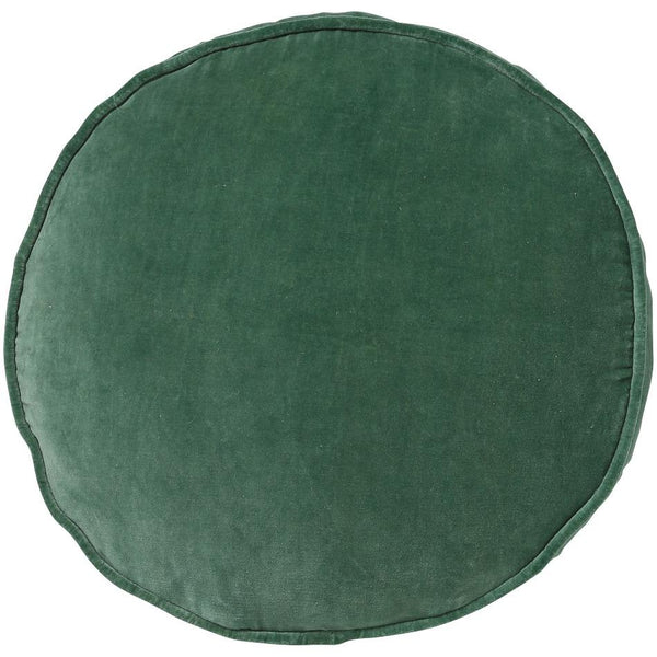 Kip & Co Cushion Kip & Co Succulent Green Velvet Pea Cushion (Pre-Order)