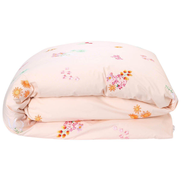 Kip & Co Duvet cover Kip & Co Wild Flower Embroidered Duvet Cover