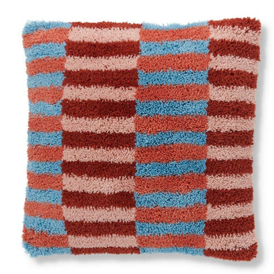 Kip & Co Ladders Wool Shag Cushion (PRE-ORDER)-Cushion-Antipodream