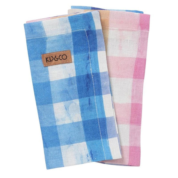 Kip & Co Napkin set Kip & Co Across The Border Linen Napkin 6P Set