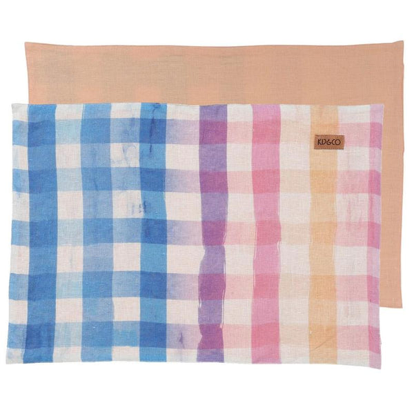 Kip & Co Place Mats Kip & Co Across The Border Linen Place Mat Set
