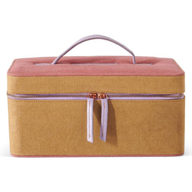 Kip & Co Tapenade Rose Toiletry Case (PRE-ORDER)-Cosmetic Bag-Antipodream