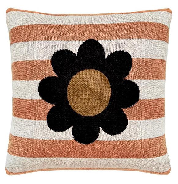 Rachel Castle Cushion Castle Bloom Stripe Knit Cushion (PRE-ORDER)