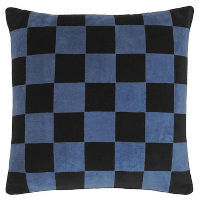 Rachel Castle Cushion Castle Checkerboard Velvet Cushion Cover
