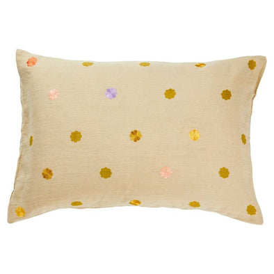 Sage and Clare Pillowcase Sage + Clare Elian Embroidered Pillowcase - Oat (PRE-ORDER)