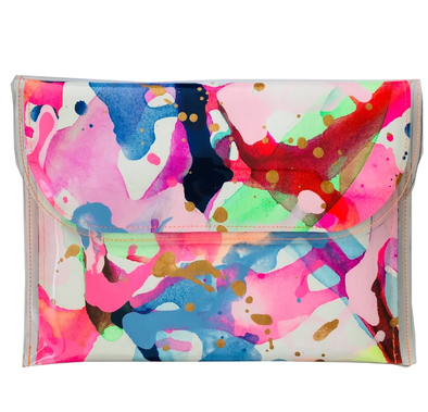 Tiff Manuell Large Clutch - Carnival - Antipodream
