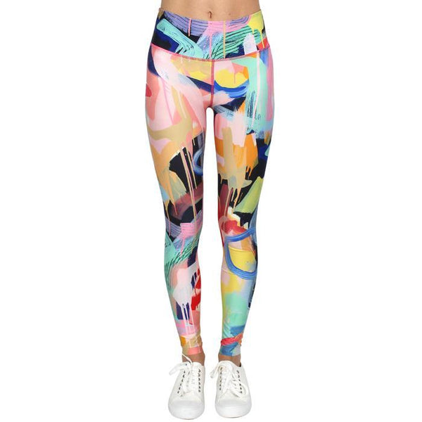 Tiff Manuell State of Happiness Leggings - Antipodream