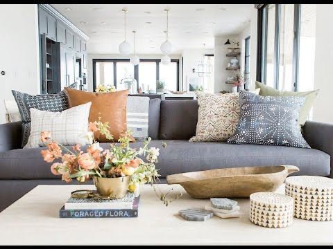 An image of a modern, yet eclectic living room