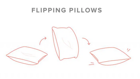 Alt= https://www-article-com-blog.exactdn.com/blog/wp-content/uploads/2019/09/FlippingPillows-768x427.jpg?strip=all&lossy=1&ssl=1> Flipping pillows is a handy technique for keeping them fluffy.