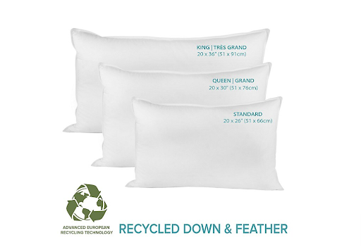 Recycled Down & Feather Pillows