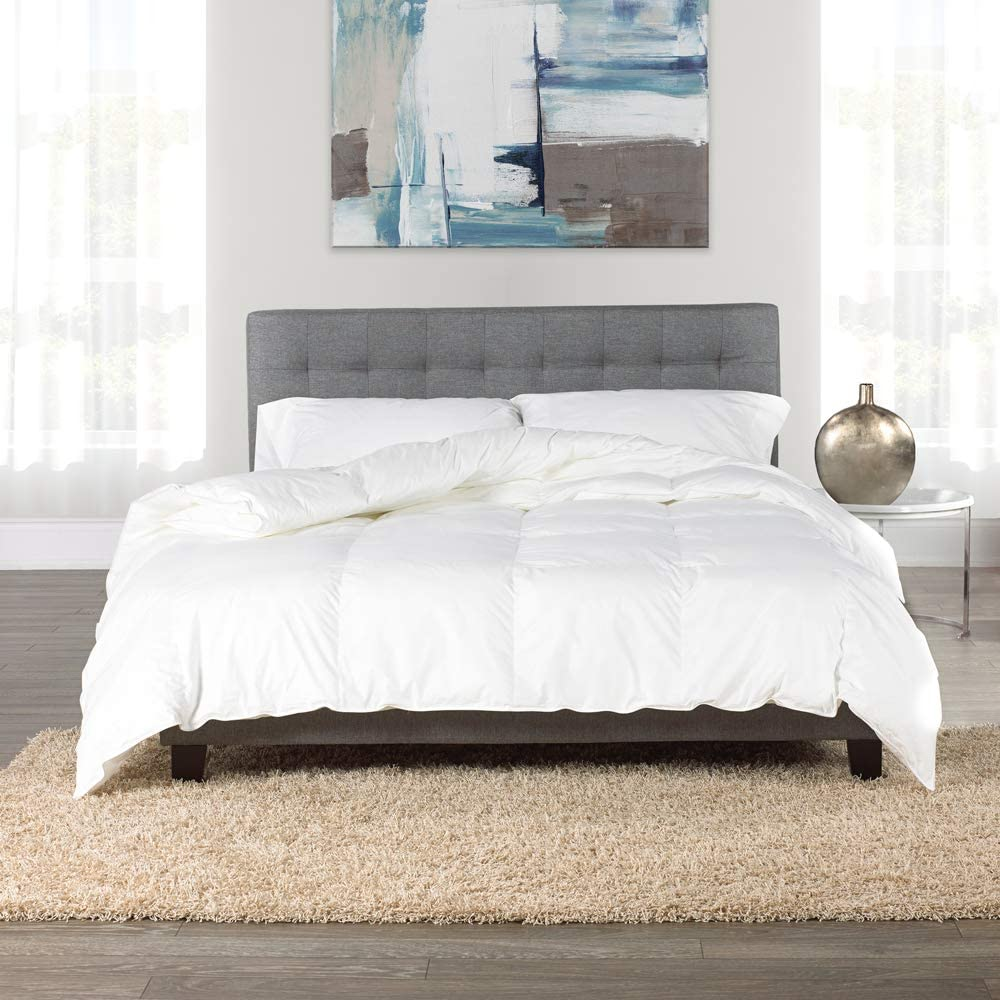 Canadian Hutterite White Goose Down Duvet by Westex