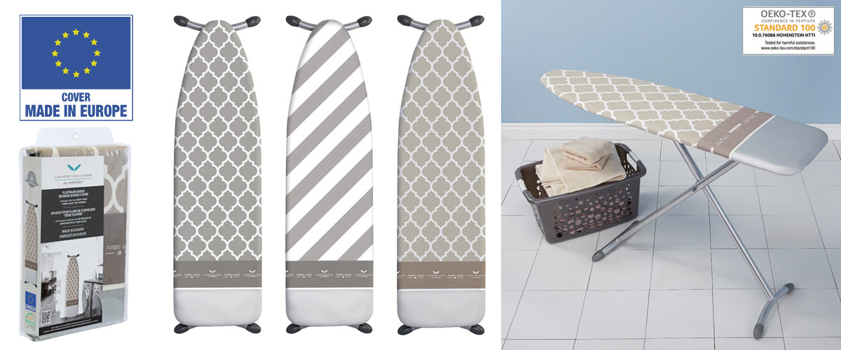 Westex European-made ironing board covers and ironing boards