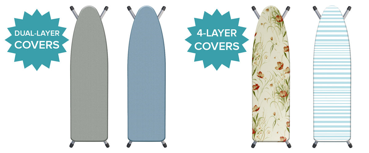 Westex dual-layer and 4-layer ironing board covers