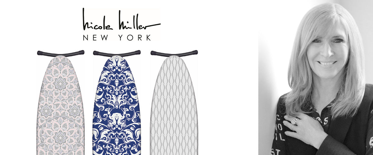 Nicole Miller Ironing Board Cover Collection